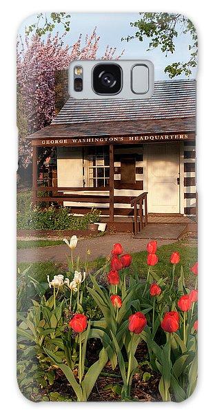 George Washington's House Galaxy Case by Jeannette Hunt