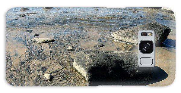 Georgian Bay Rocks Galaxy Case by Nadine Dennis