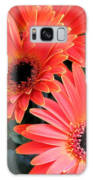 Gerbera Bliss Galaxy Case by Rory Sagner