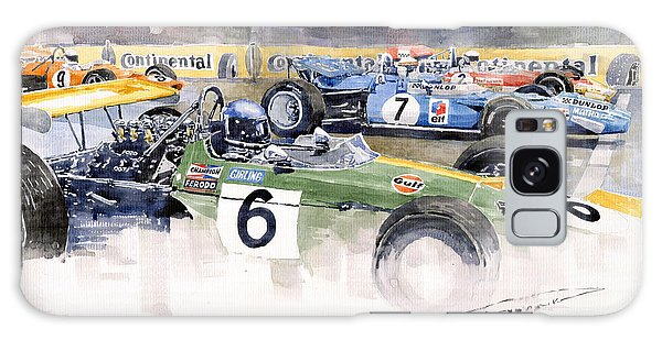 Motor Galaxy Case - Germany Gp Nurburgring 1969 by Yuriy Shevchuk
