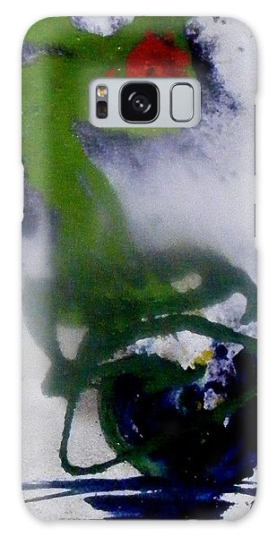 Ghost Flower Galaxy Case