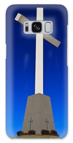 Giant Cross Galaxy Case by Doug Long