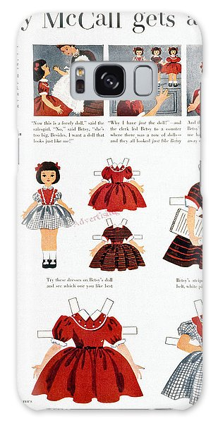 Paper Dress Galaxy Case - Girls Fashions, 1952 by Granger