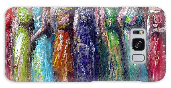 Girls Night Out Galaxy Case by Bernadette Krupa