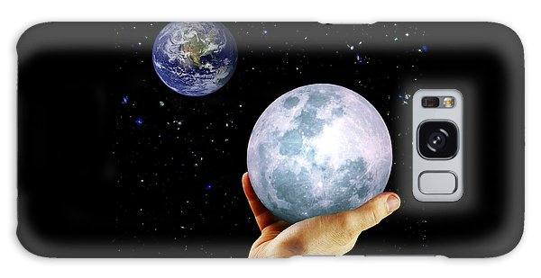 Give Her The Moon Galaxy Case by Michele Cornelius