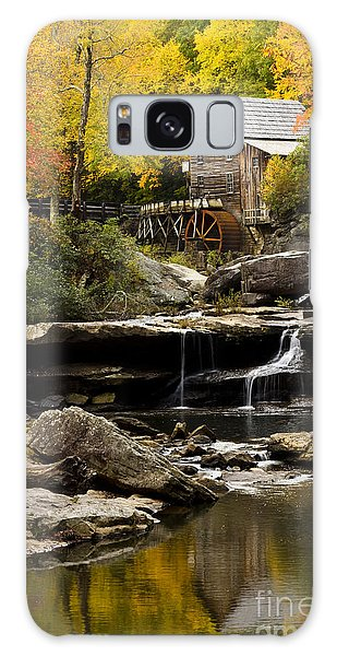 Glade Creek Grist Mill Galaxy Case by Carrie Cranwill