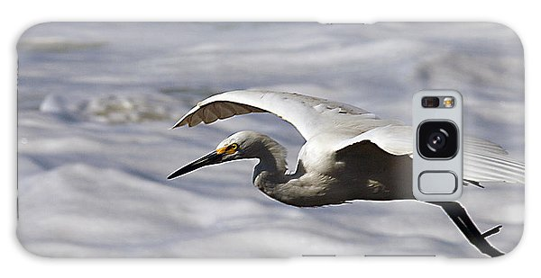 Egret Galaxy Case - Gliding Snowy Egret by Joe Schofield
