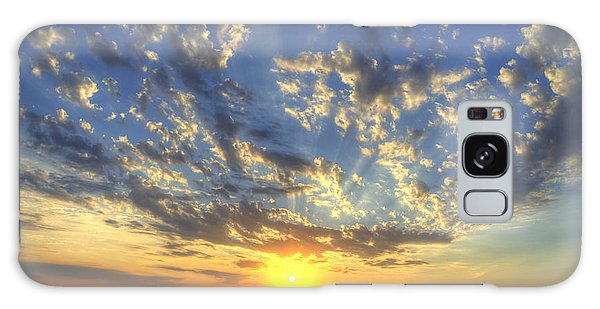 Glorious Sunrise Galaxy Case by Jim And Emily Bush