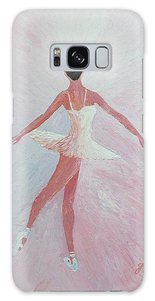 Glowing Ballerina Original Palette Knife  Galaxy Case