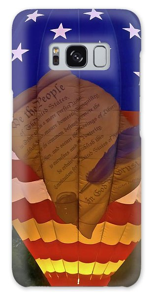 Feather Stars Galaxy Case - Glowing Constitution by DigiArt Diaries by Vicky B Fuller