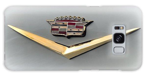 Chrome Galaxy Case - Gold Badge Cadillac by Douglas Pittman