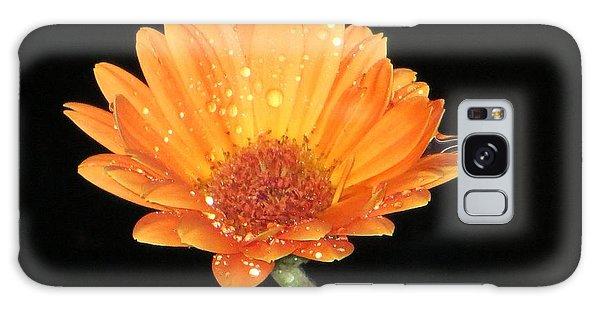 Golden Droplets Galaxy Case by Sonali Gangane