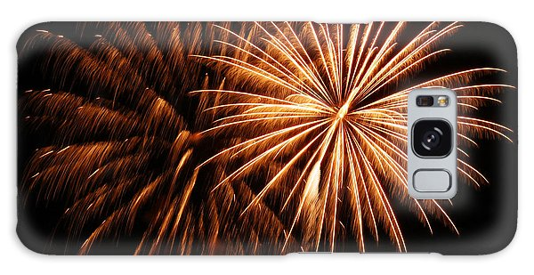 Golden Firework Galaxy Case by Tyra  OBryant