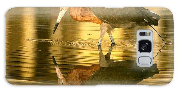 Golden Reflection Galaxy Case by Myrna Bradshaw