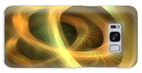 Golden Rings Galaxy Case by Kim Sy Ok