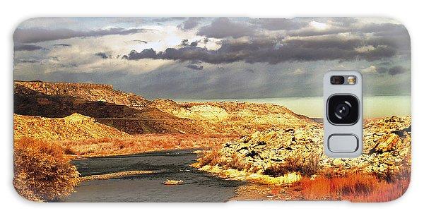 Golden San Juan River Galaxy Case