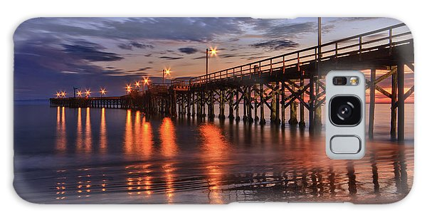 Goleta Pier Galaxy Case