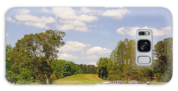 Golf At Calloway Gardens Galaxy Case by J Jaiam