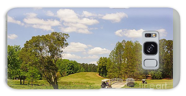 Golf At Calloway Gardens Galaxy Case by J Jaiam