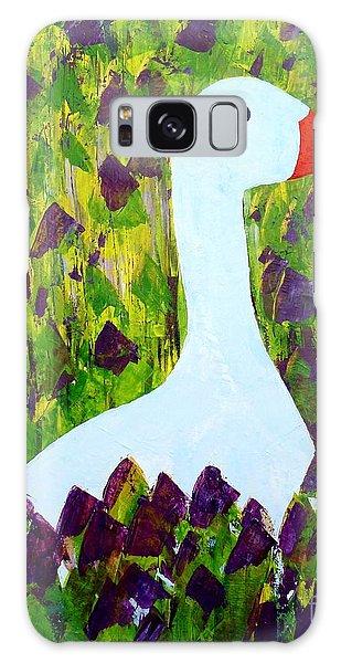 Goose Galaxy Case by Barbara Moignard