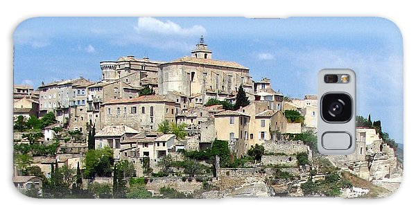 Gordes In Provence Galaxy Case by Carla Parris