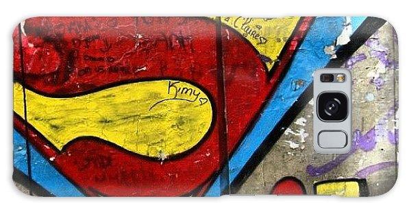 Superhero Galaxy Case - #grafetti #superman #1970 #paris by Jenny Mills