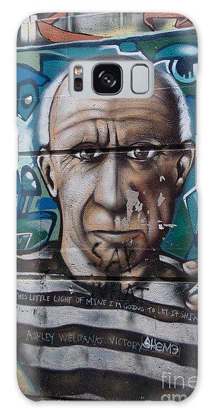 Graffii Alley Galaxy Case by Carol Ailles