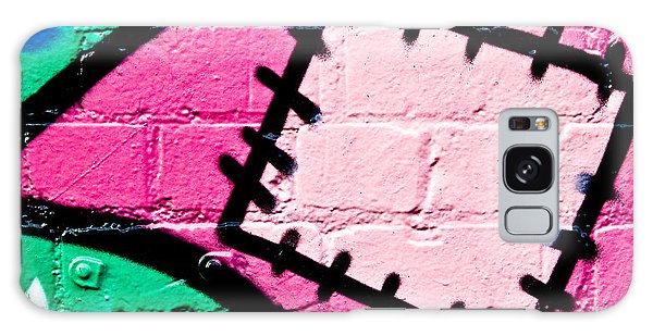 Graffiti Patch Closeup Galaxy Case by Yurix Sardinelly