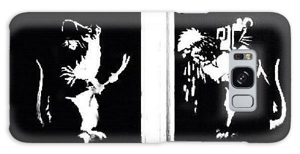 Design Galaxy Case - #graffiti #streetart #stencil #banksy by A Rey