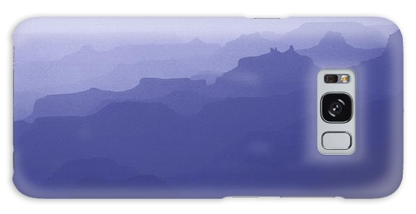Grand Canyon Silhouettes Galaxy Case