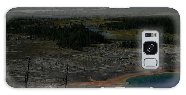 Grand Prismatic Spring Yellowstone National Park Galaxy Case