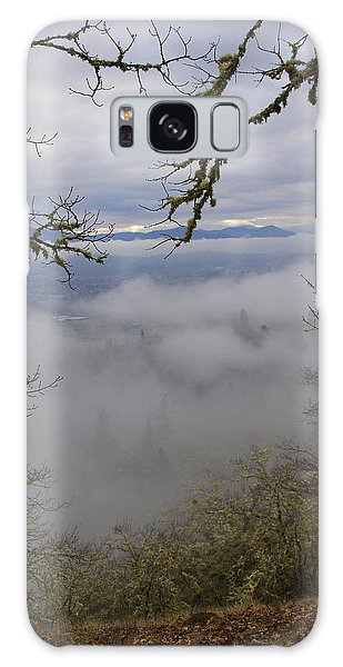 Grants Pass In The Fog Galaxy Case by Mick Anderson