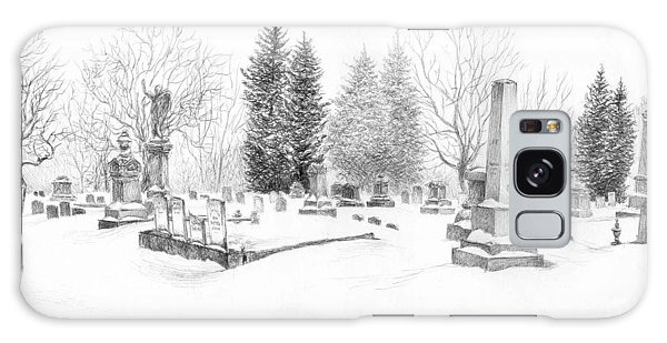 Graveyard In The Snow Galaxy Case