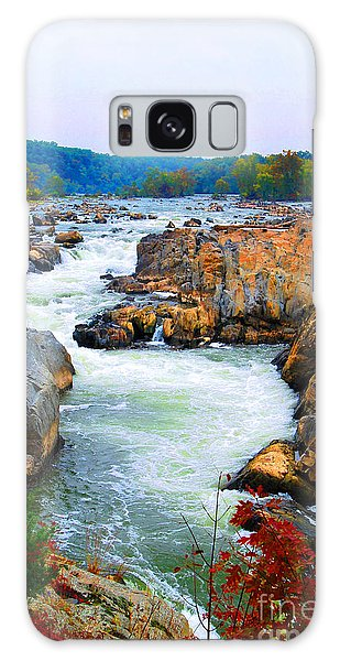Great Falls On The Potomac River In Virginia Galaxy Case
