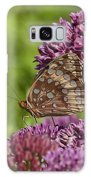 Great Spangled Fritillary Din194 Galaxy Case