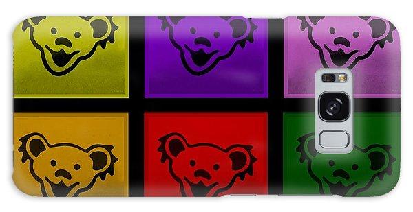 Galaxy Case - Greatful Dead Dancing Bears In Multi Colors by Rob Hans