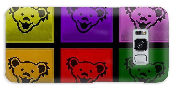 Greatful Dead Dancing Bears In Multi Colors Galaxy Case
