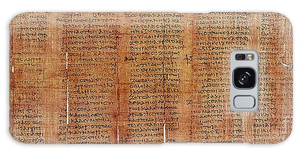 Aspect Galaxy Case - Greek Papyrus Horoscope by Science Source