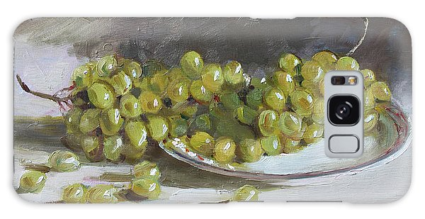 Grape Galaxy Case - Green Grapes  by Ylli Haruni
