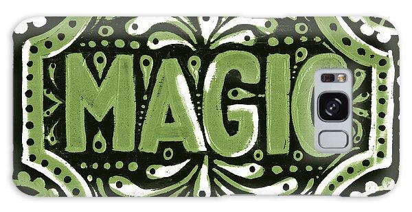 Green Magic Galaxy Case