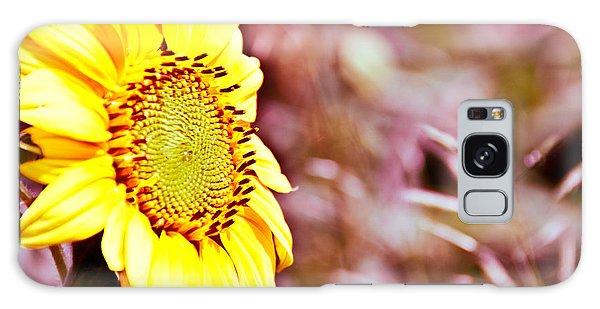 Greeting The Sun. Galaxy Case by Cheryl Baxter