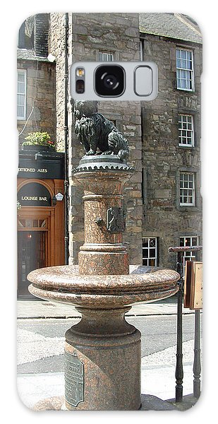 Greyfriars Bobby Galaxy Case by Richard James Digance
