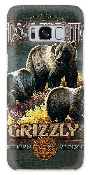 Grizzly Bear Galaxy Case - Grizzly Traditions by JQ Licensing