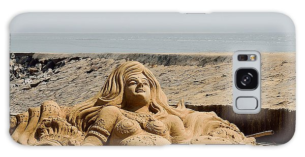The Little Mermaid By The Sea Galaxy Case