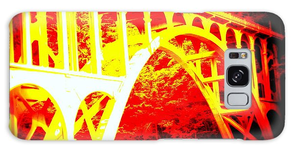 Haceta Head Bridge In Abstract Galaxy Case