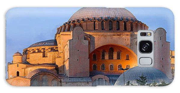 Hagia Sophia At Dusk Galaxy Case
