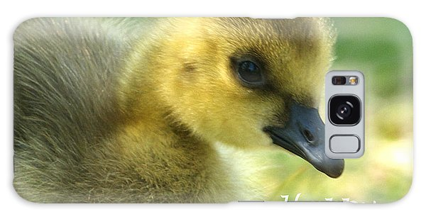 Happy Easter Gosling Galaxy Case