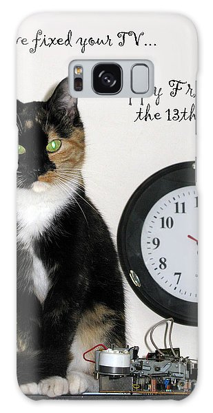 Galaxy Case featuring the photograph Happy Friday The 13th by Ausra Huntington nee Paulauskaite