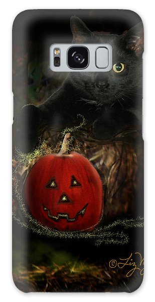 Happy Halloween Image Only Galaxy Case