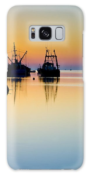 Harbour Sunrise Galaxy Case by Trevor Chriss